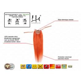Doczepiany kucyk 50-55cm włos naturalny v1 - 20phs1ni070v1
